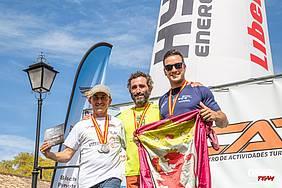 podium nacional paramotor