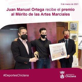 reconocimiento a J.M. Ortega