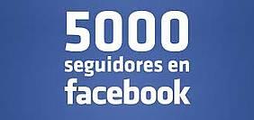 5000 seguidores en facebook
