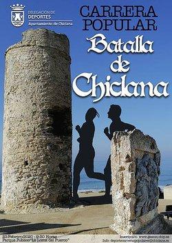 CARTEL CARRERA BATALLA DE CHICLANA