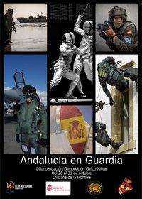 cartel evento esgrima militar
