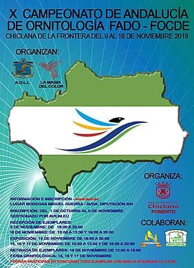 cartel evento ornitología