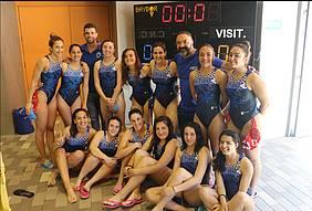 Foto grupo  del Club Waterpolo Chiclana Albatros.