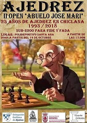 cartel evento ajedrez