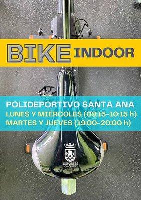 cartel actividad bike indoor