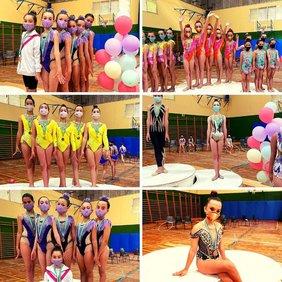 collage fotos gimnasia rítmica sancti petri
