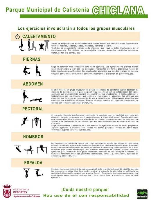 explicación de los ejercicios posibles