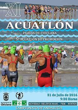 cartel aquatlón 2016