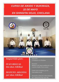 cartel evento aikido