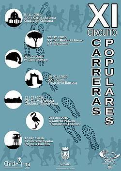 CARTEL CIRCUITO CARRERAS