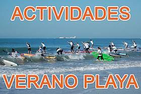 actividades verano playa