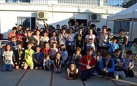 Fotografía final con todos los jugadores.