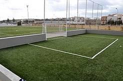 Campo de fútbol indoor.