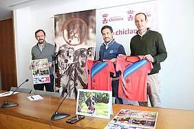 Foto presentación I Canicross Ciudad de Chiclana.