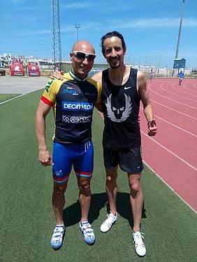 Raúl Aragón y Manuel Olmedo.