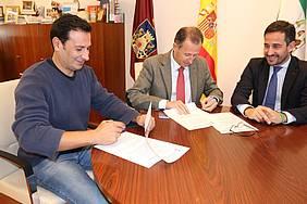 Convenio colaboración Club Piragüismo Chiclana.