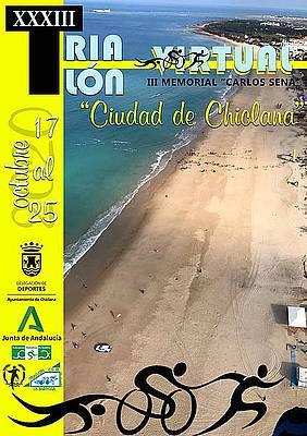 cartel triatlón chiclana