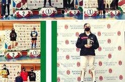 collage podiums esgrima