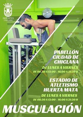 cartel musculación