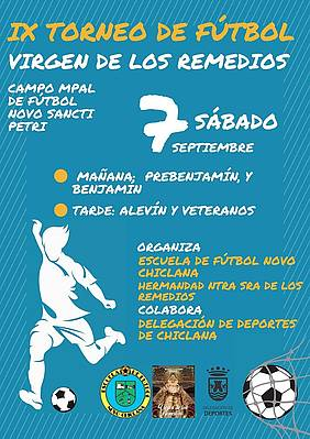 cartel torneo fútbol novochiclana