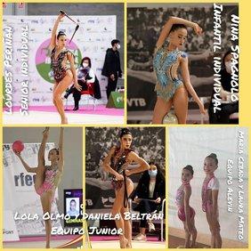 collage de las participantes chiclaneras