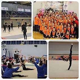 foto master class gimnasia rítmica