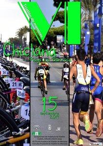 cartel triatlón de menores