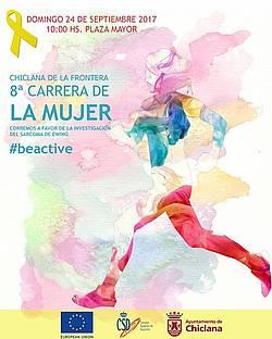 CARTEL CARRERA DE LA MUJER 2017