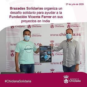 foto presentación brazadas solidarias