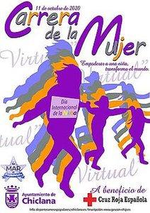 cartel carrera de la mujer 2020