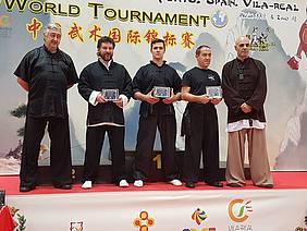 Foto podium kung fu