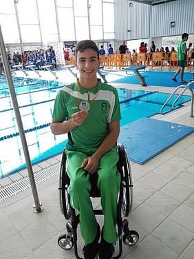 Foto Quintero con medalla