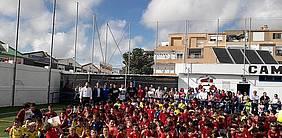 Foto presentación Campus E.F. Sancti Petri y Chiclana C.F.