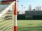Pista de Futbol Sala de césped artificial.