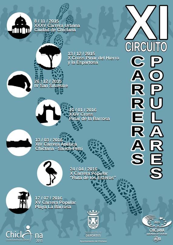 Cartel circuito atletico 15/16