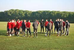 Equipos de Fútbol durante su stage en Chiclana