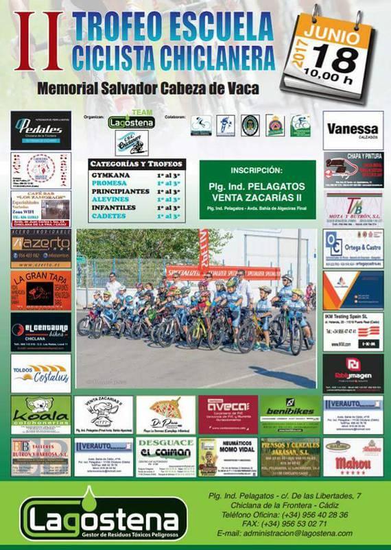 cartel escuela ciclista chiclanera