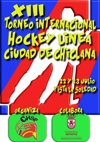 cartel evento hockey