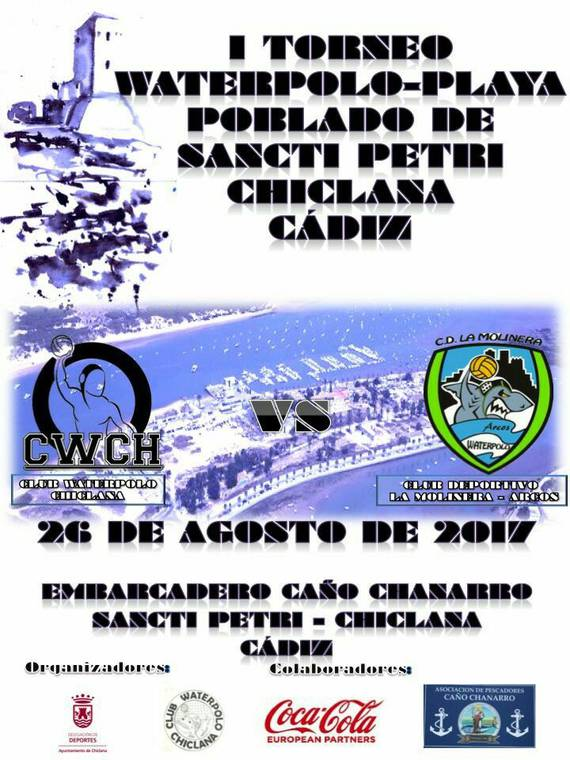 cartel waterpolo playa