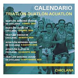 CALENDARIO TRIATLÓN CHICLANA