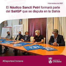 foto alcalde presentación SAILGP