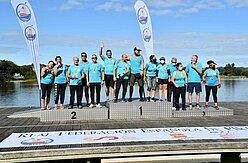 foto integrantes dragon boat en Asturias