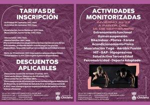 información actividades