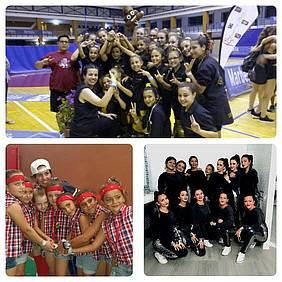 Foto grupos del Dance School Chiclana